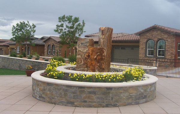 Lovely We Use Natural Stone To Create Beautiful Water Fountains.